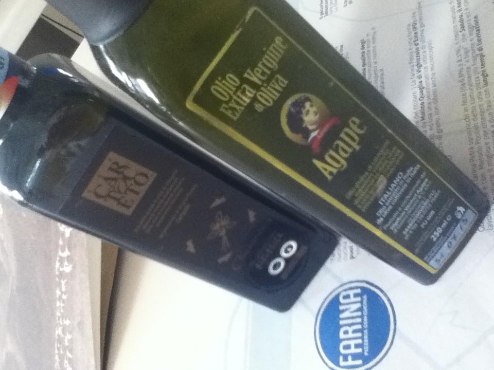 Olio extravergine di Oliva Cartoceto DOP e di Agape