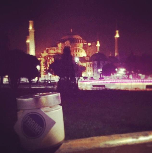 Basilica Santa Sofia in notturna - Istanbul