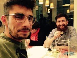 Elia e Andrea del Birrificio Renton di Fano