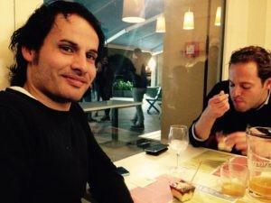 La nuova generazione di produttori, Giovanni Zavoli (Azienda Agricola Zavoli) e Alberto Guerrieri (Azienda Agricola Guerrieri)
