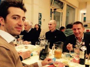 Giovanni Girolomoni & staff (Gino Girolomoni Cooperativa Agricola) e il commercialista di Farina - Daniele Battistoni (Studio Ricci di Montecchio)