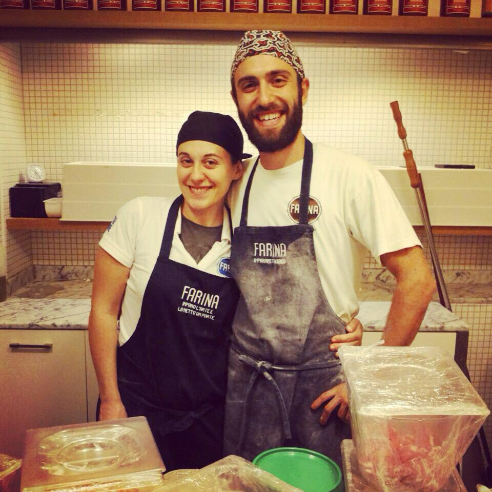 Lucy e Armando pizzeria farina pesaro