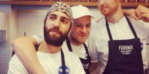 Armando, Francesco e Mirco pizzeria farina pesaro