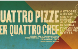 Quattro pizze per quattro chef