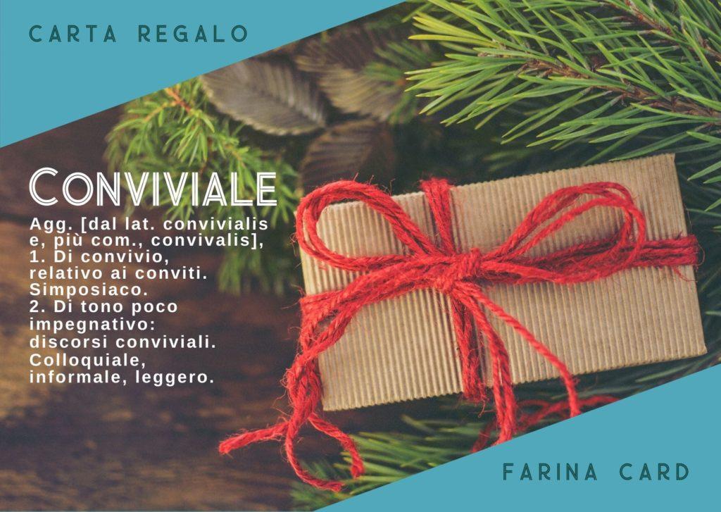 Farina Card - Carta Regalo di Farina