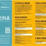 Il menù di Farina