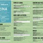 Il menù stagionale di Farina